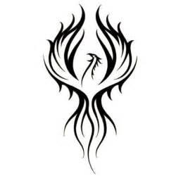 best 25 tribal phoenix tattoo ideas on pinterest
