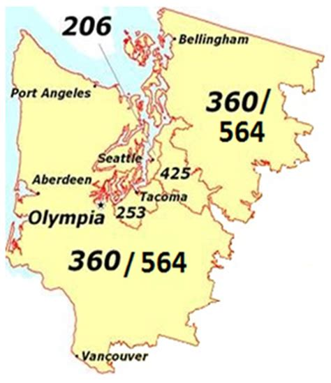 washington area codes area code 206 253 425 360 and 509 new area code coming for western washington in 2017 the