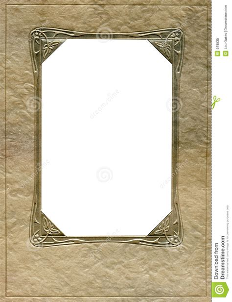 corner photo frames antique frame and corners stock image image of corner