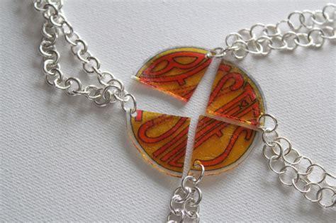 diy best friend necklaces diy best friends necklace for besties it forward