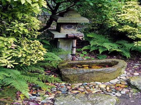 Water Garden Features Ideas Japanese Garden Water Feature Design Ideas