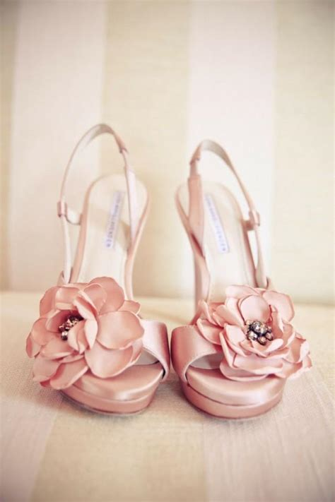 wedding flower shoes blush wedding pretty pink wedding shoes with flowers