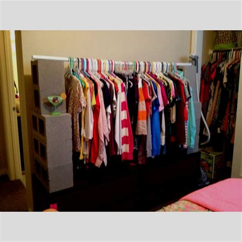 Makeshift Closet pin by pam iverson on for the home