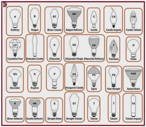 types of light bulbs and their uses bulbs with their unique names engineering engine