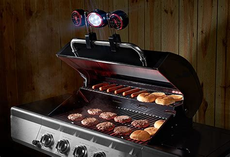 grill light and fan bbq grill light and fan sharper image