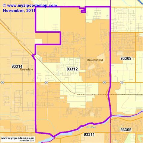 zip code map bakersfield ca zip code map of 93312 demographic profile residential