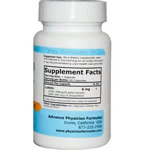 supplement lutein lutein zeaxanthin