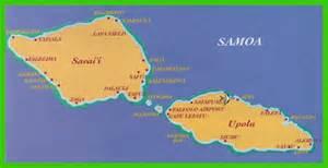 Samoa World Map by About Samoa