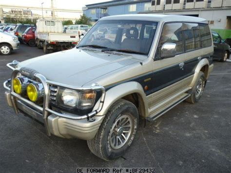 used 1991 mitsubishi pajero wide exceed q v44wg for sale bf29432 be forward