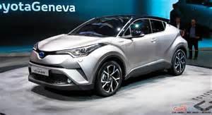 Toyota Concept Toyota C Hr Concept Unveiled At 2016 Geneva Motor Show