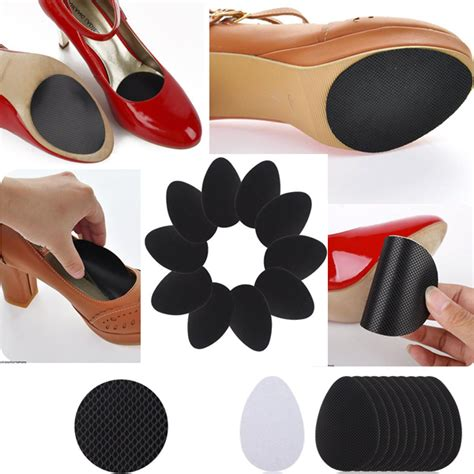5 pairs self adhesive anti slip stick on shoe grip pads