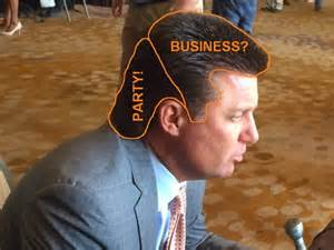 okc hair show oklahoma state selling mike gundy mullet and visor t shirts
