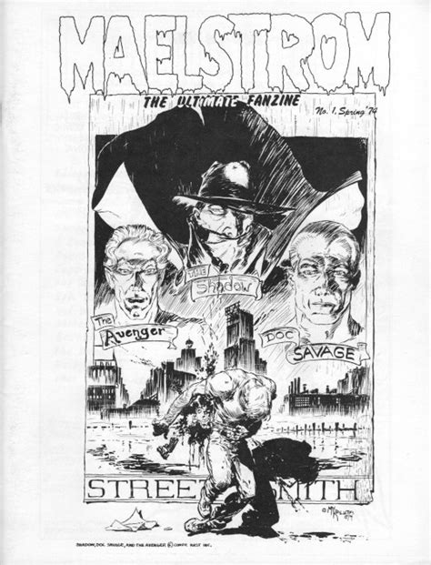 Fabulous Find: Maelstrom # 1 fanzine | Back to the Past