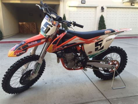 Ktm 450sxf Factory Edition For Sale Ktm 2015 Factory Edition 450 For Sale California Autos Post