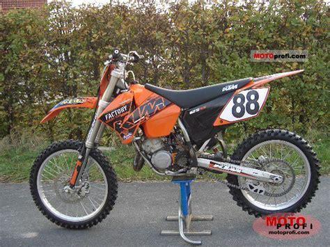 2004 Ktm 125sx Ktm 125 Sx 2004 Specs And Photos