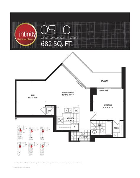 30 grand trunk floor plans oslo 682 infinity condos at 19 30 grand trunk cres