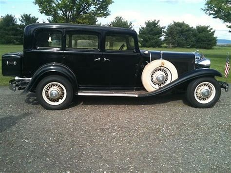 1932 chrysler imperial for sale sell used 1932 chrysler imperial flathead 8 black in