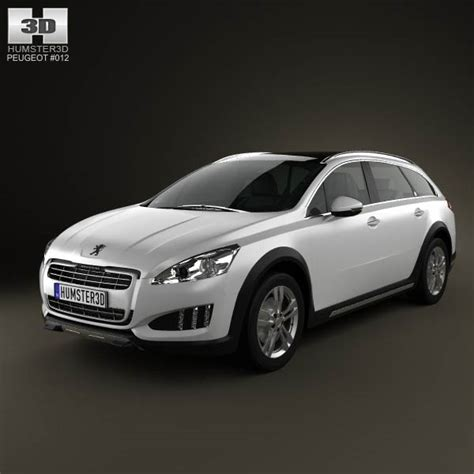 peugeot 2013 models peugeot 508 rxh 2013 3d model humster3d