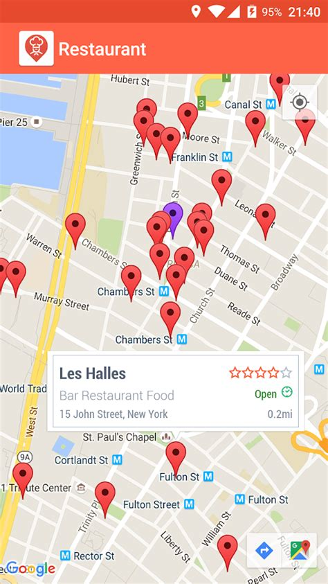 Play Store Map Restaurant Finder Android Apps On Play