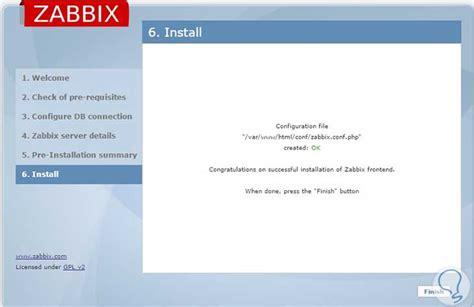 tutorial zabbix mysql c 243 mo instalar y configurar zabbix en centos red hat y