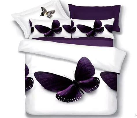 Popular Purple Butterfly Bedding Buy Cheap Purple Butterfly Bed Sets