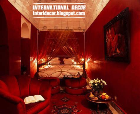 interior design 2014 romantic red degrees in home decor