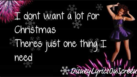 All I Want For It by Miley Cyrus All I Want For Is You Lyrics On