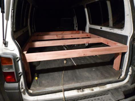 Rv Bed Frame Shrieking Peanut Diy Cervan Bed Setup