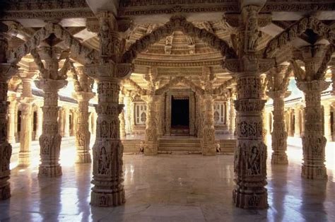 Interior Temple by Interior Of The Vimala Sha Temple Photo Indian School