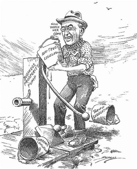 political cartoons illustrating progressivism and the woodrow wilson political cartoon