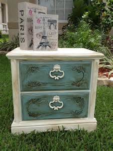 chalk paint shabby chic shabby chic chalk paint nightstand end by