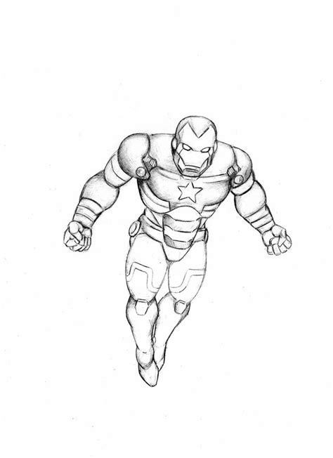 iron patriot drawing www pixshark com images galleries
