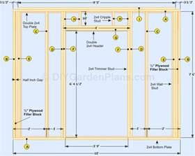 wall blueprints door plans large size of garage doors wonderful