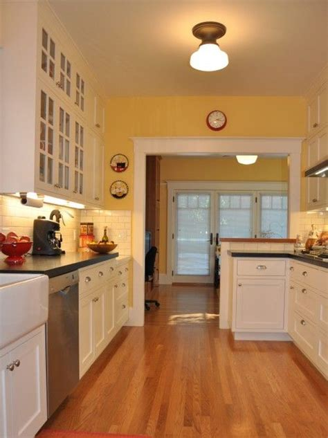Yellow Kitchen With White Cabinets Yellow Kitchen S Kitchen