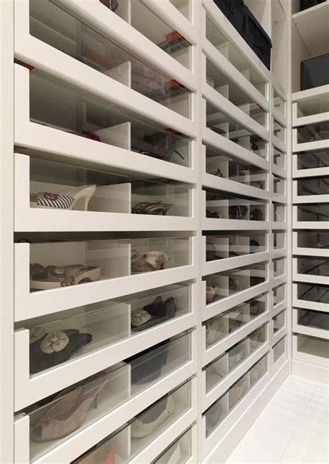 Modern Shoe Closet by Modern Shoe Storage Walk In Closet Inspiration