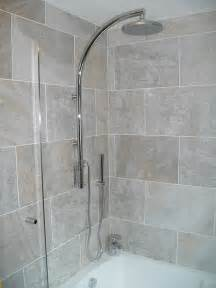 Over Bath Showers New Bathroom Fitted In Redditch Photos Of Completed