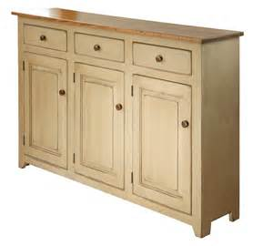 Country buffet dining cabinet w 3 doors wormy maple amish handmade