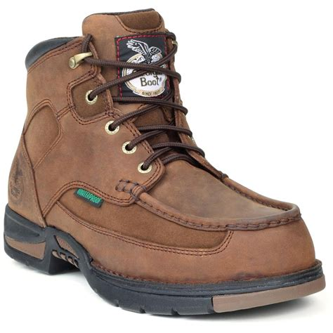 s 174 athens waterproof work boots brown