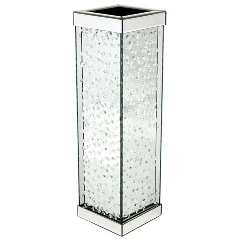 Mirrored Vase by Vicenza Mirrored Vase Furniture From Homesdirect
