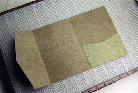 Handmade Paper Seattle - seed paper invitation pocket fold handmade lotka paper