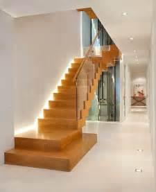 moderne treppen led treppenbeleuchtung innen 25 ideen f 252 r die gestaltung