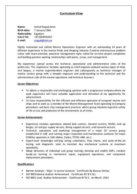 marine surveyor resume resume ideas