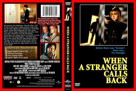 when a stranger calls back when a stranger calls back movie dvd custom covers