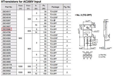 transistor equivalent book ebook c5586 datasheet pdf sanken datasheetcafe