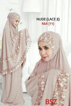 Jilbab Anak Serut Kika mukena md6softbrown bahan katun jepang ukuran all size mukena