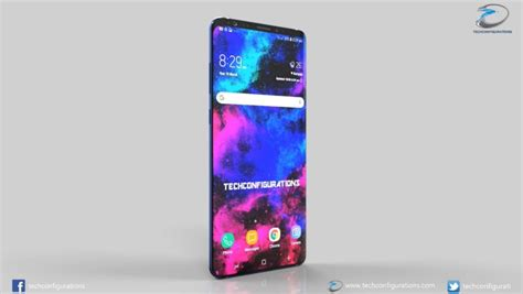 Samsung Galaxy S10 Glass by Samsung Galaxy S10 Gets Intro Concept Phones
