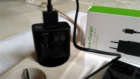 Charger Sony Uch10 Fast Charging Original test charger original sony fast charging uch10