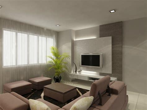 Living Room In Jb Living Room Design Skudai Semi Detached House Johor Bahru