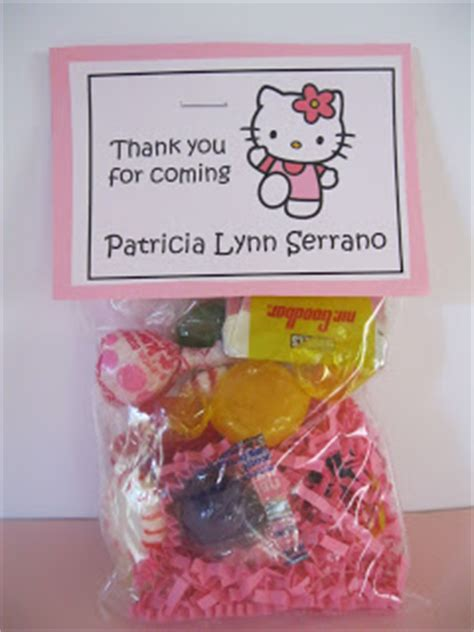10 Cutest Hello Goodies by And Sassy Designs By Bonnie Hello Goody Bags