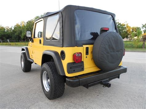 97 Jeep Wrangler Top 97 06 Jeep Wrangler Replacement Soft Top Tinted